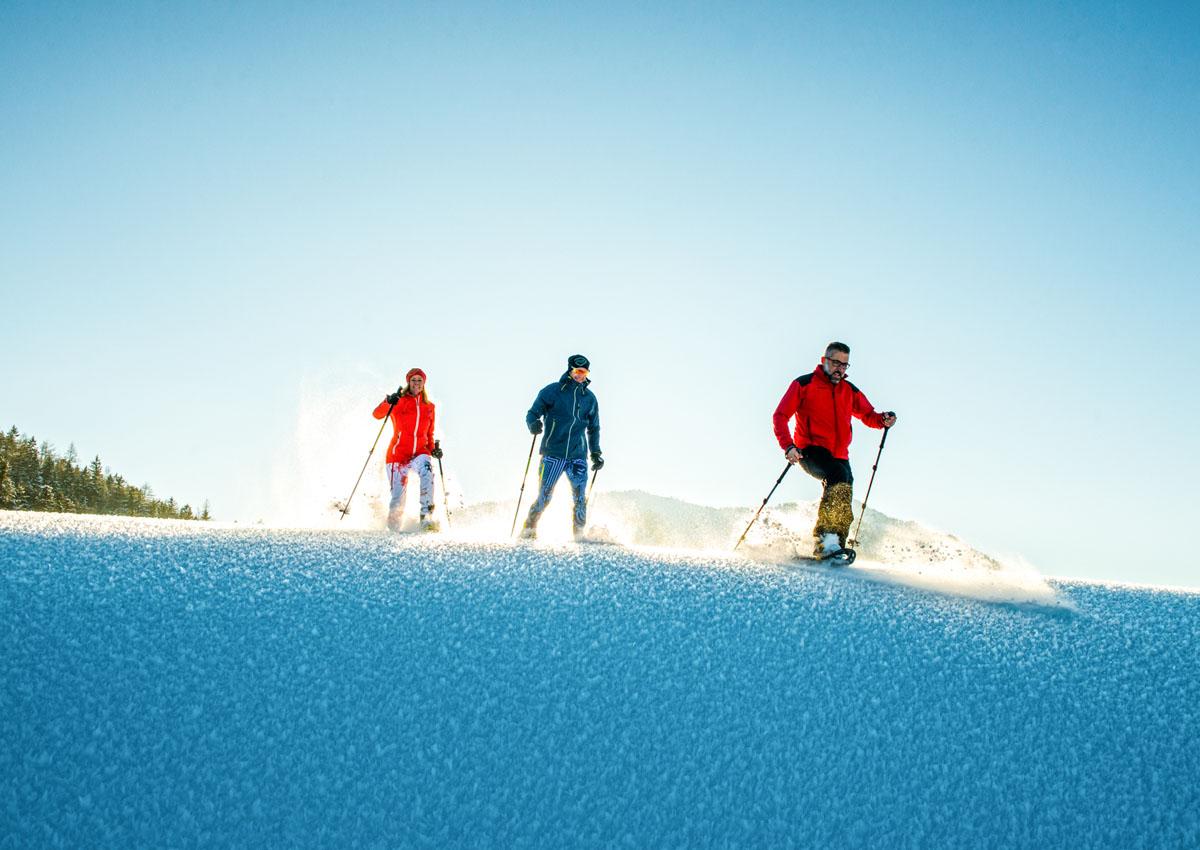 Schneeschuh Wanderung Faistenau