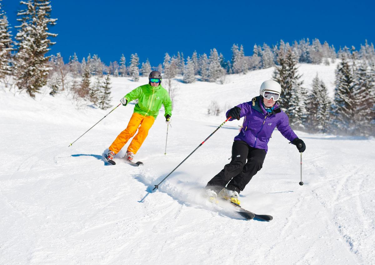 Skifahren Faistenau Hintersee Postalm