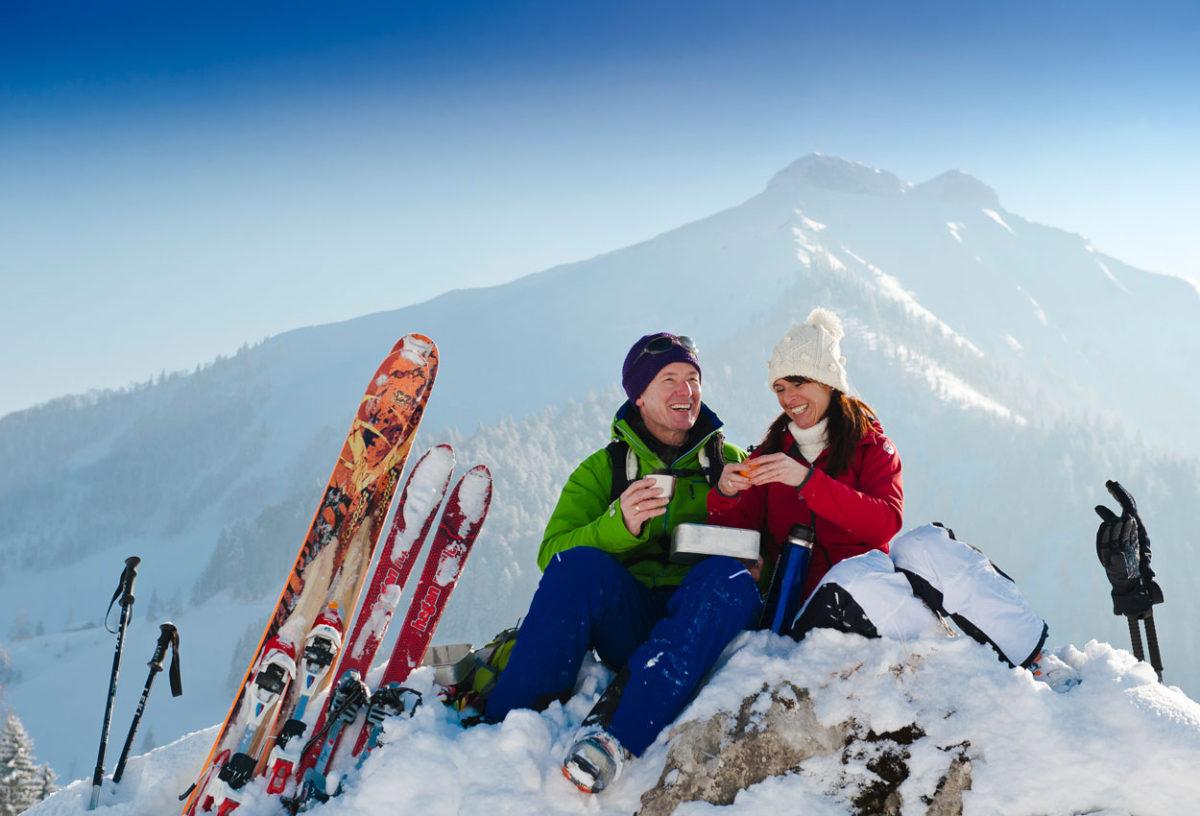 Skitour Faistenau - Pension Alpenblick
