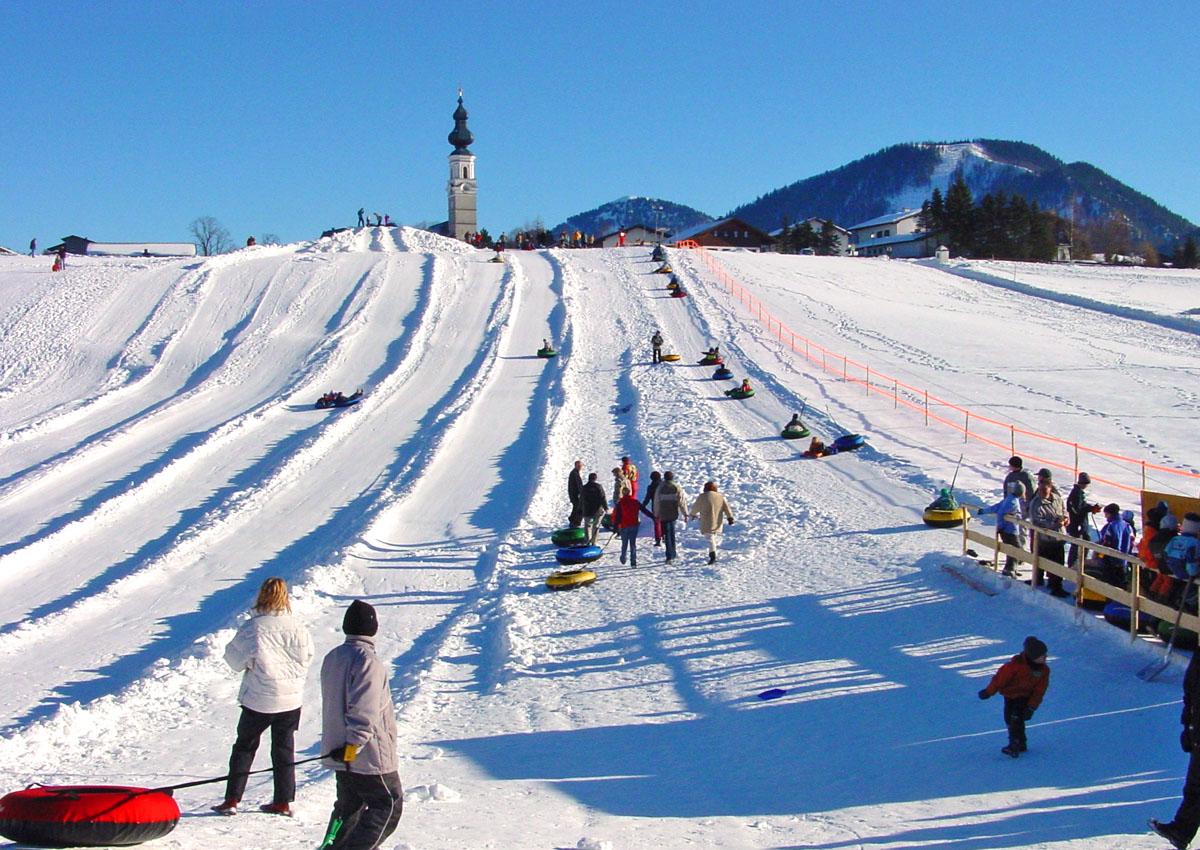 Snowtubing Bahn Faistenau
